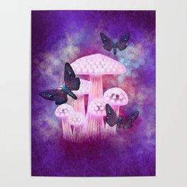 Dusk Hawk Moths Poster