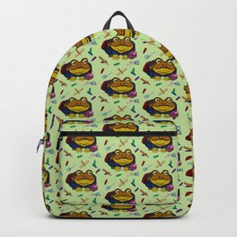 Little Toad Goes to School Backpack
