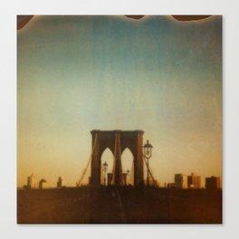 Brooklyn (sunset) Canvas Print