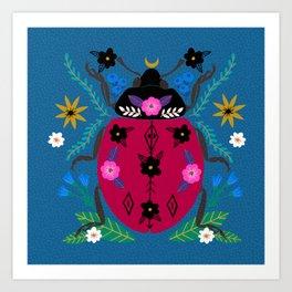 Ladybug wonder Art Print