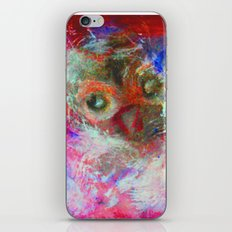 Abstract Owl iPhone & iPod Skin