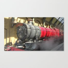All abroad the Hogwarts Express Canvas Print