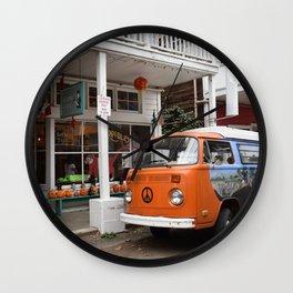 I found love in Locke California Wall Clock