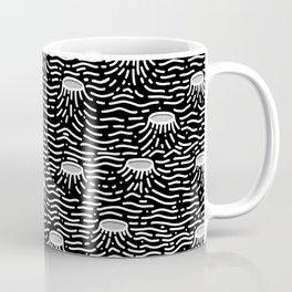 Dark Moon Surface Coffee Mug