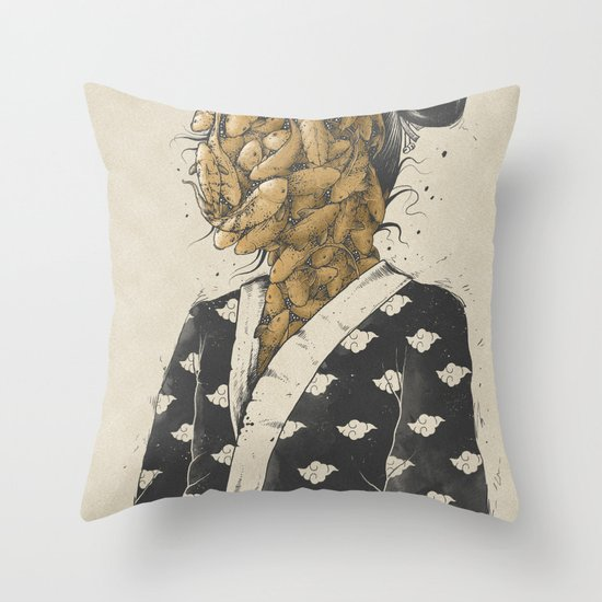 Koi Dream Throw Pillow