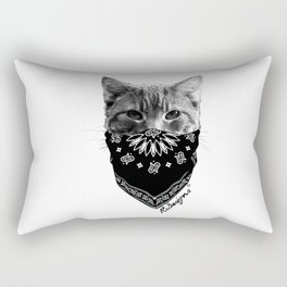 Animal Bandits - Kitty Rectangular Pillow