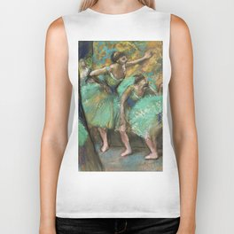 "Edgar Degas ""Strike of the ballerinas"" Biker Tank"