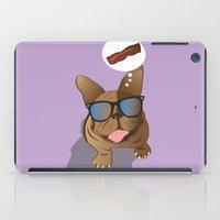 bacon iPad Cases featuring BACON! by Salina Ayala