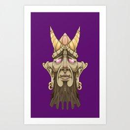 Face furniture Art Print