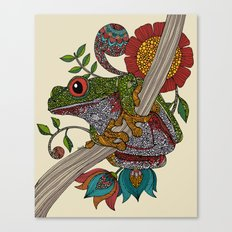 Phileus Frog Canvas Print