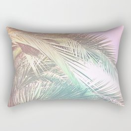 Wild palm leaves Nostalgia Rectangular Pillow