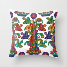 Tropical Tribute Throw Pillow