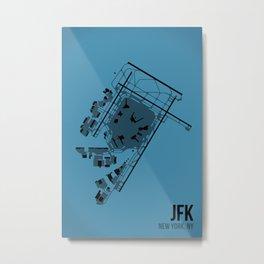 JFK Metal Print