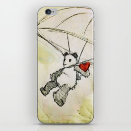 It comes when the wind is right. iPhone Skin