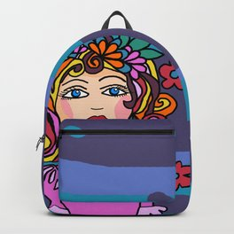 Style Girl - No7 - Doodle Art Backpack