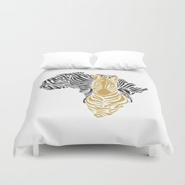 African Tribal Pattern No. 43 Duvet Cover