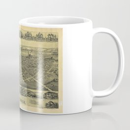 Aerial View of Canal Dover, Ohio (1899) Coffee Mug
