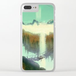 Ladders Clear iPhone Case
