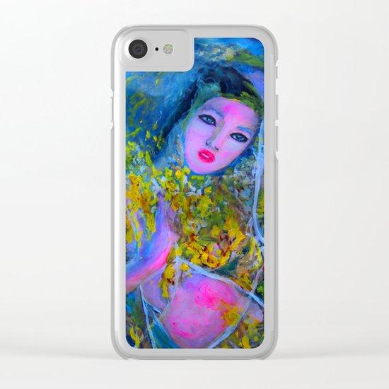 RUSALKA Clear iPhone Case