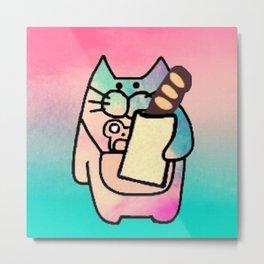 cat mouse 221 Metal Print