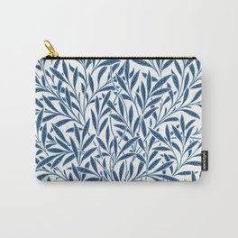 William Morris Navy Blue Botanical Pattern 9 Carry-All Pouch