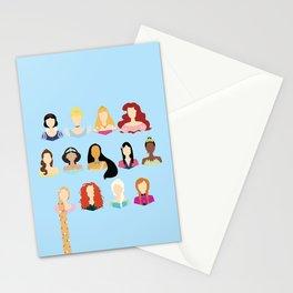 Princess Print Stationery Cards