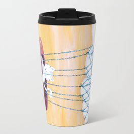The cat traveling in dreams Travel Mug