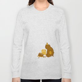 Birthday Bear Long Sleeve T-shirt
