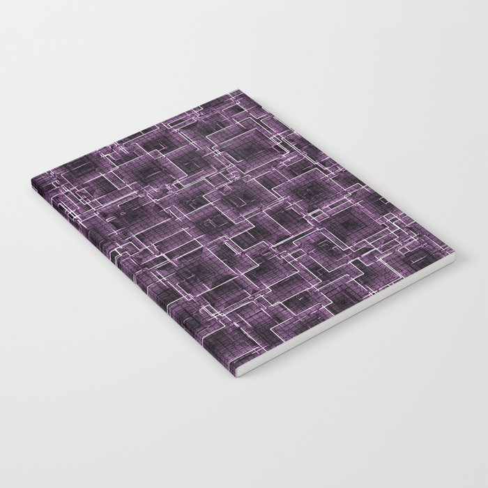 The Maze - Lilac Notebook