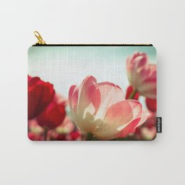 Spring Tulips Carry-All Pouch