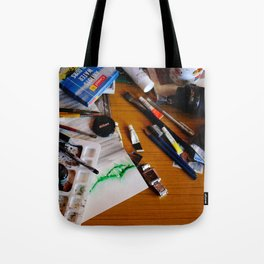 art background,  Tote Bag