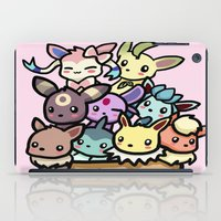 eevee iPad Cases featuring Eevee Ice Cream by Mayying
