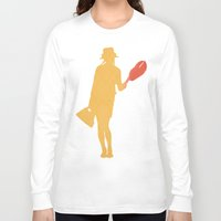 lobster Long Sleeve T-shirts featuring Lobster by Michael Fitzgerald