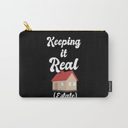 Realtor Design: Keeping It Real Estate I House I Residence Carry-All Pouch