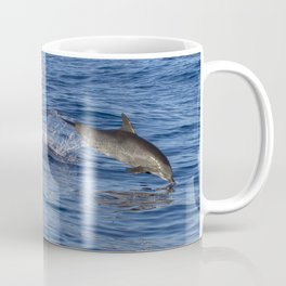 Dolphins Jumping Out of the Ocean Coffee Mug