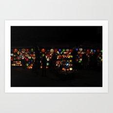 Vietnamese Lanterns  Art Print