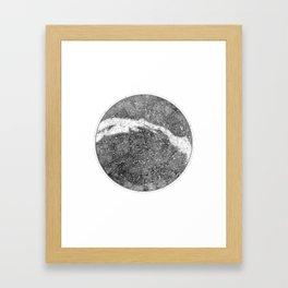 Star Map Framed Art Print
