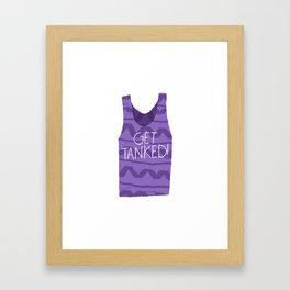 Get Tanked! Framed Art Print