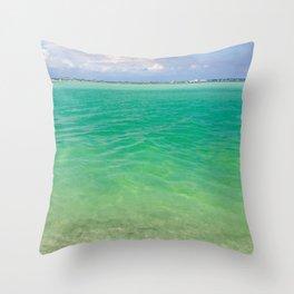 Tranquility: Caladesi Island, FL Throw Pillow