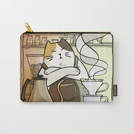 Cat Brew Carry-All Pouch