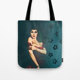 Flower In A Smoky Room Tote Bag