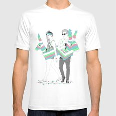 Piñata party! White Mens Fitted Tee MEDIUM