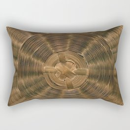 Antique Sewing Basket Weave Rectangular Pillow