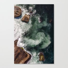The Dynamics of Water Canvas Print