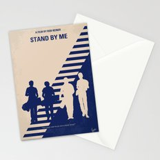 No429 My Stand by me minimal movie poster Stationery Cards
