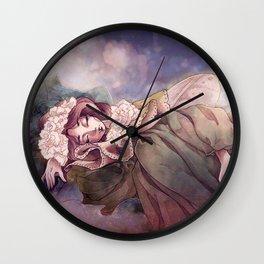 Dreaming Fairy Wall Clock