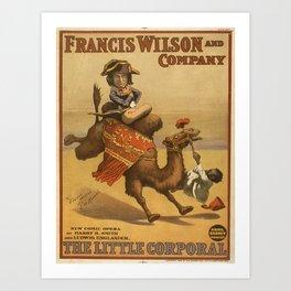 Vintage poster - The Little Corporal Art Print