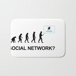Evolution of social network Bath Mat