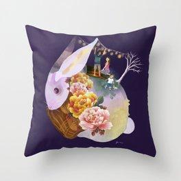 Mid Autumn Throw Pillow