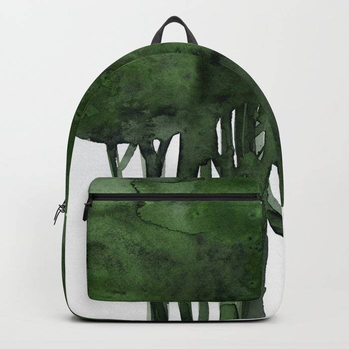 Tree Impressions No.1C by Kathy Morton Stanion Backpack
